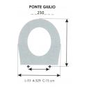 Child Toilet Seat PONTE GIULIO (ONLY RING)