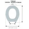 ASIENTO INFANTIL PORSAN / SANGRÁ - MODELO PORSAN (SOLOARO)