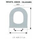 Child Toilet Seat JUNIOR-VALADARES (ONLY RING)