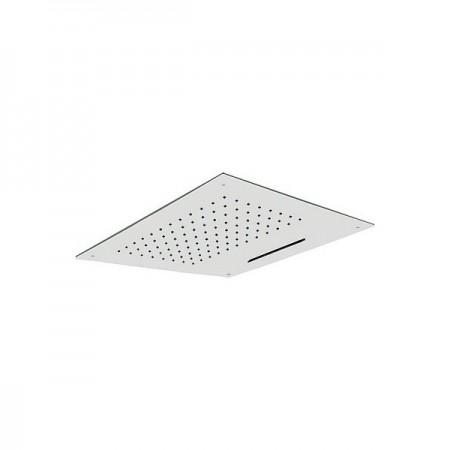Rociador de ducha a techo con cascada inox loft tres disper for Duchas de techo precio