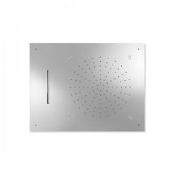 Rociador ducha a techo 3 funciones INOX TRES