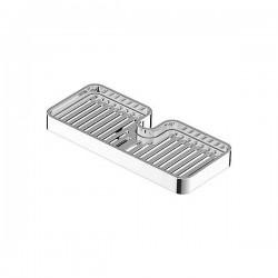 Jabonera CUB para barra deslizante Ø18mm. y Ø24mm. TRES