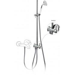 Conjunto ducha anticalcárea RETRO Ducha fija Ø310mm. Ducha móvil anticalcárea. Adaptable a grupo de ducha y baño?ducha