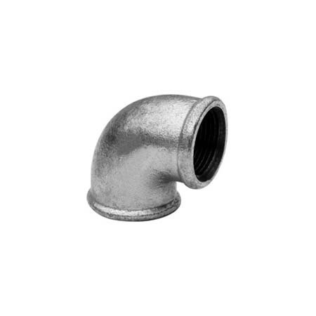 Elbow 90º F/F - Galvanized iron