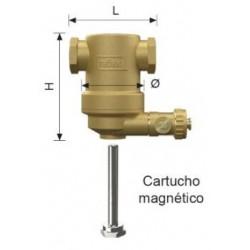 "Separador De Lodos Horizontal Con Cartucho Magnético ""EXDIRT"""