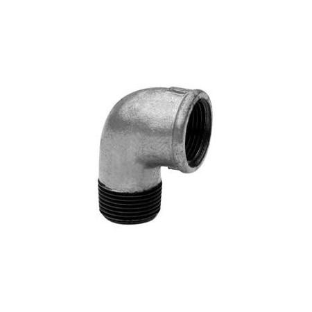 Elbow 90º M/F - Galvanized iron