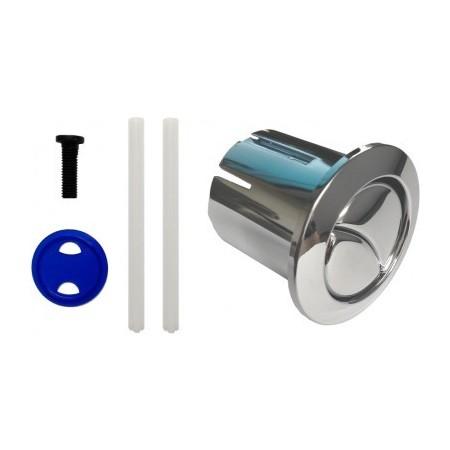 Doble pulsador corto d2d para cisternas roca disper for Arreglar cisterna roca doble pulsador