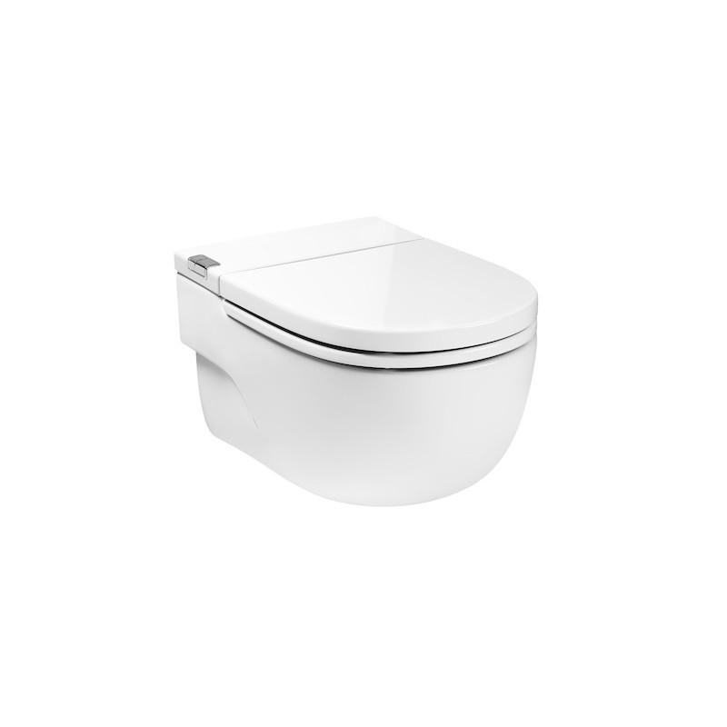 inodoro con cisterna integrada in tank y soporte en i
