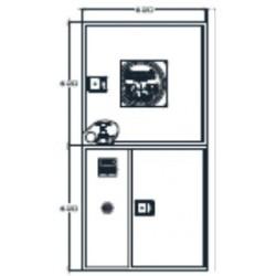 Arm. Ext. + Alarma Para Sistemas Verticales Modelo Riastar. Dimensiones: 620 X 620 X 250 Mm