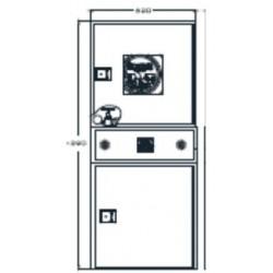 Alarma Para Sistemas Verticales Modelo Riastar. Dimensiones: 150 X 620 X 250 Mm