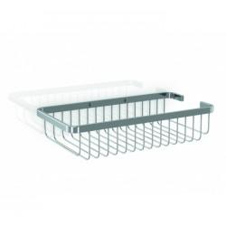 Jabonera rectangular de latón GENWEC