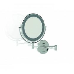 Espejo Con Luz LED Redondo De Aumento GENWEC