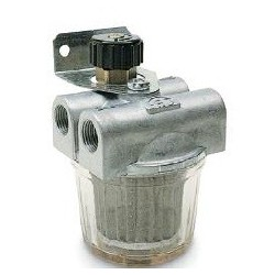Filtro Gasoleo Aluminio 2V-3/8 Con Recirculacion