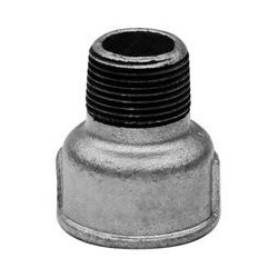 Nipple socket F/M - Galvanized iron