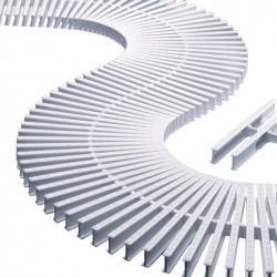 Módulo De Rejilla Transversal Para Curvas Con Alto 22 MM. ASTRALPOOL