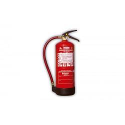 Extintor Portátil de POLVO ABC de 6 Kg. Eficacia: 34A - 233B