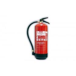 Extintor portátil de POLVO ABC de 9 Kg.