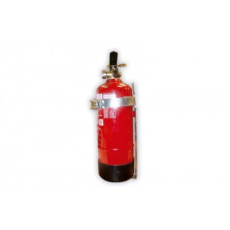 Soporte Extintor 6 Kg. Para vehículo Con 1 fleje