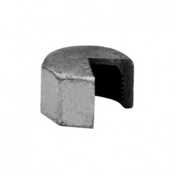 Hexagon cap F - Galvanized iron