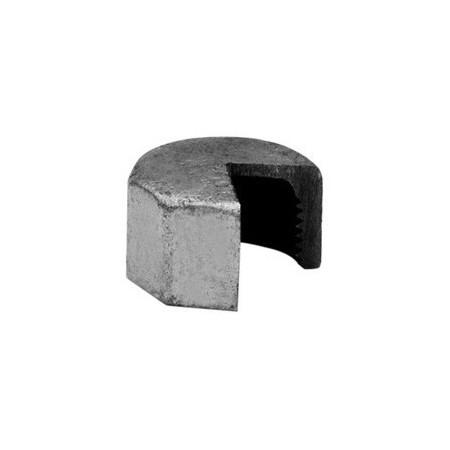 Bouchon hexagonal F - Fer galvanisé