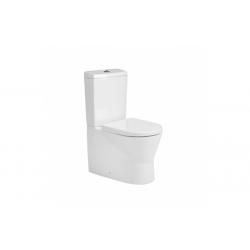 Inodoro 60 Cisterna Baja Sin Orificio Suministro Agua URB.Y - UNISAN