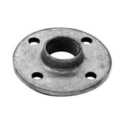 Floor flange F - Galvanized iron