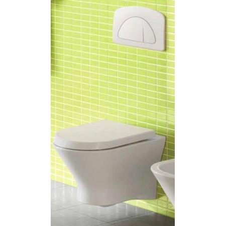 Inodoro suspendido NEXO + Cisterna empotrada + Tapa WC