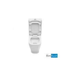 Inodoro Cisterna Baja Rimflush LOOK - UNISAN