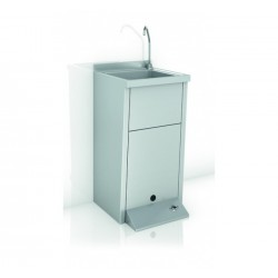 Lavamanos De Un Agua Registrable Con Pedestal - GENWEC