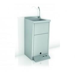 Lavamanos De Dos Agua Registrable Con Pedestal - GENWEC