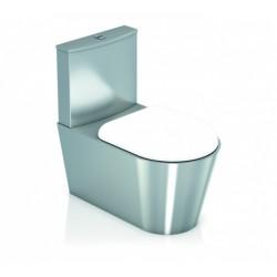 Inodoro Con Cisterna De Descarga Inox 304 Satinado - GENWEC
