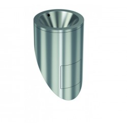 Urinario Redondo Inox 304 Satinado - GENWEC