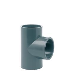 Te H 90º PVC Presión