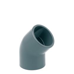 Codo H-H 45º PVC Presión