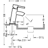 Grifo Monomando De Lavabo Con Válvula De Desagüe Automático - ALPLUS