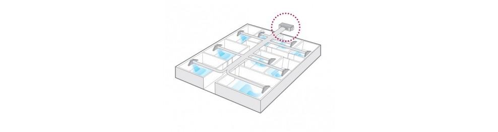 Condizionamento dell'aria del condotto