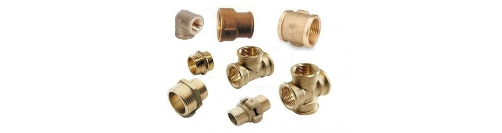 Brass accessory for iron