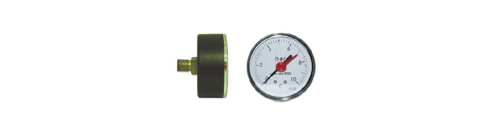 Thermometers and manometers
