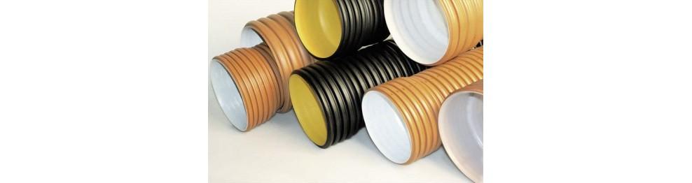 Pipeline e scarico corrugato
