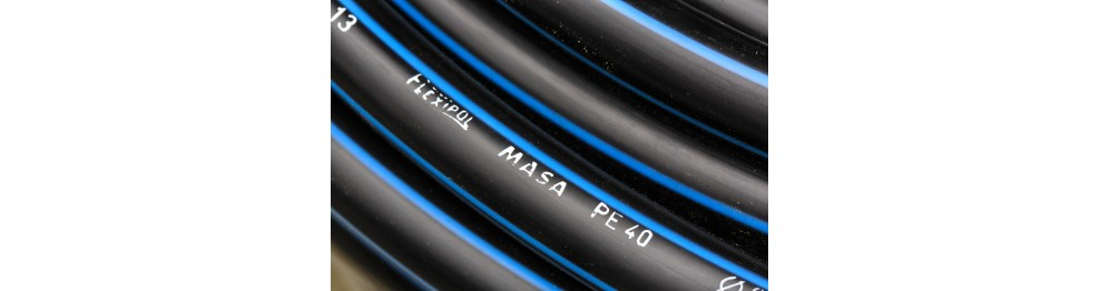 PE40 low density PE pipe