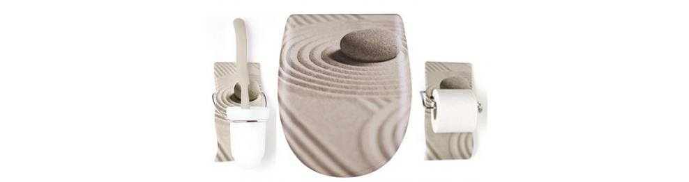 Assentos sanitários para vasos decorados