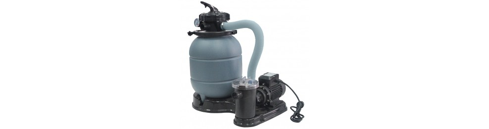Water treatment plants for swimming pool