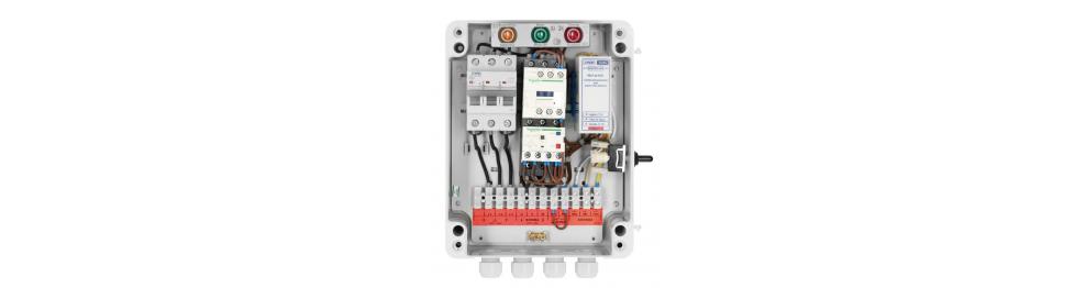 Panneaux électriques pour pompes à eau