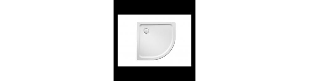 Platos de ducha de acero