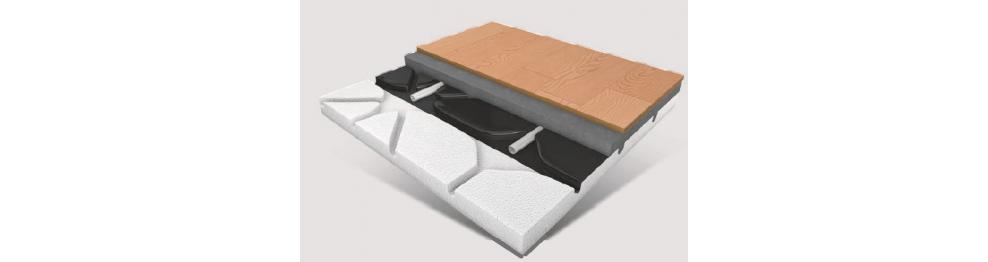 Sistema de aquecimento por piso radiante R50 Schutz