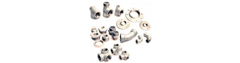 Raccordi per ferro zincato