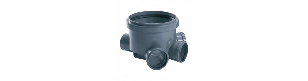Raccords pour tuyaux d'évacuation PVC