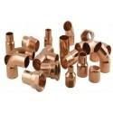 Raccord pour tuyaux en cuivre
